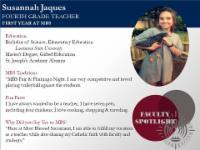 Faculty Spotlight - Susannah Jaques