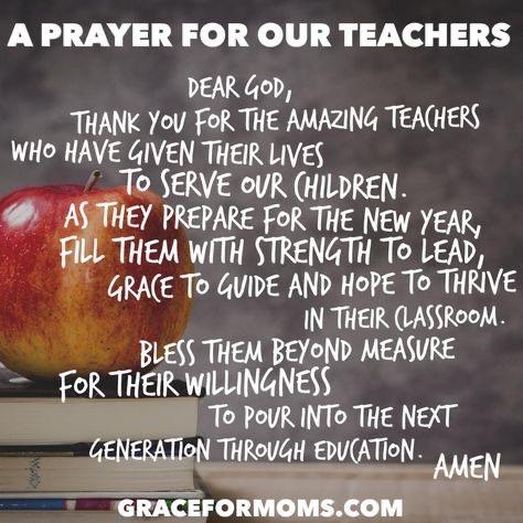 Teacher Prayer