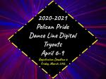 Pelican Pride Dance Team Virtual Try-Outs