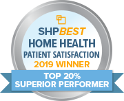 "Nursing Specialties Home Health has earned the 2019 SHPBest ""Superior Performer"" Patient Satisfaction Award"