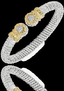 Pave' Diamond Tipped Bracelet - Antons Fine Jewelry ...