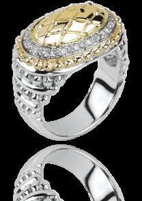Oval Gold and Diamond Halo - Antons Fine Jewelry - Baton ...