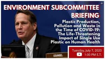 Environmental Subcommittee on Plastic Production Pollution and Waste