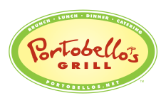 Join our Email List for Amazing Portobello's Grill Offers