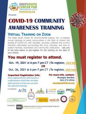 COVID-19 Community Awareness Trainings