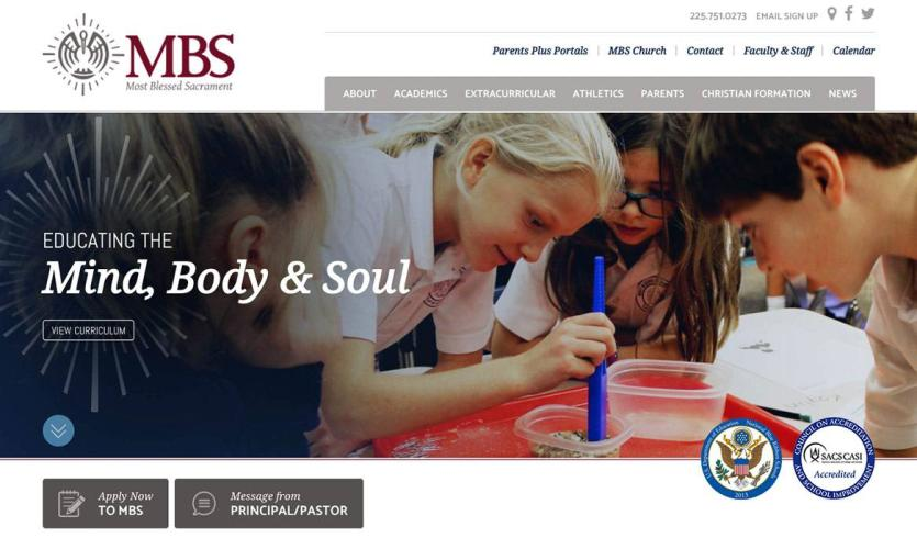 mbs-school Website Home