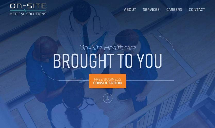 onsite-med Website Home