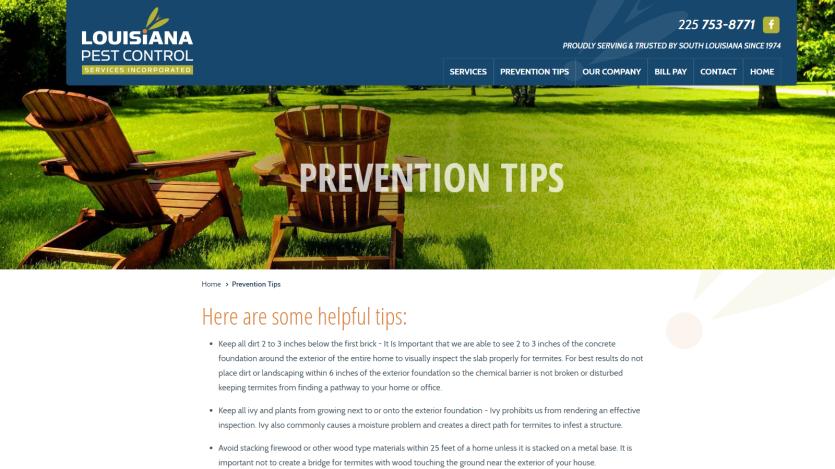 la-pest Website 2