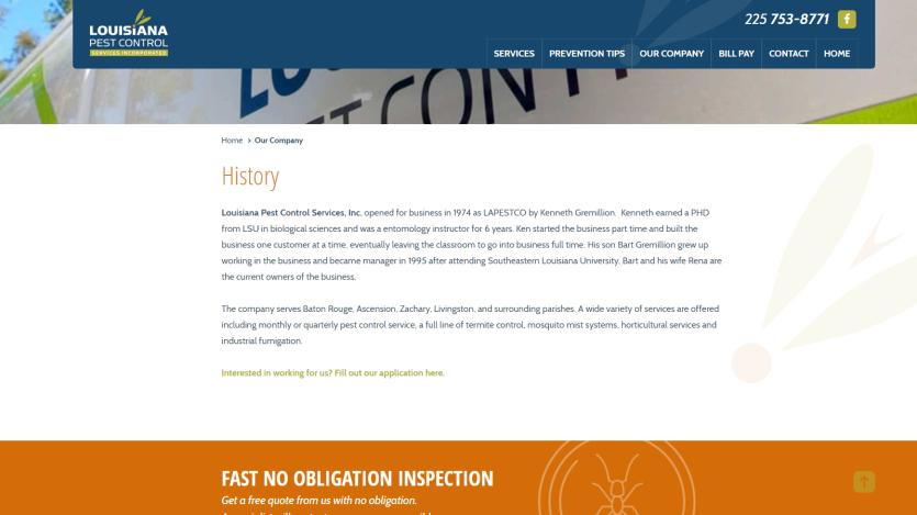 la-pest Website 3