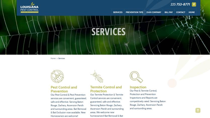 la-pest Website 4