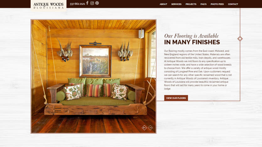 antique_woods Website 2