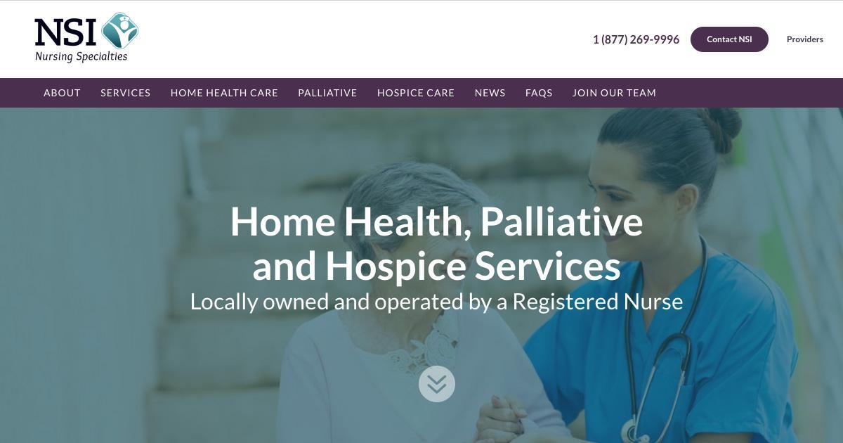 Nursing Specialties | Providing Quality Home Health Care