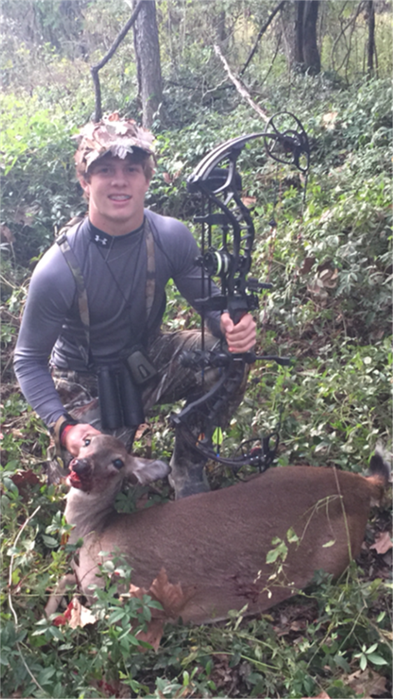 Conner Joffrion's 1st bow kill