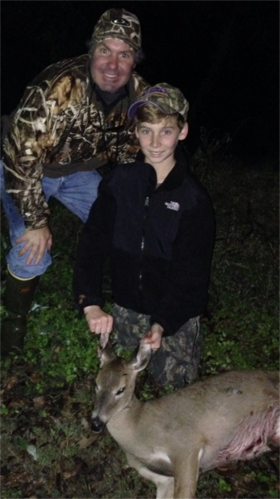 First deer for Ethan & Lawrence Gettys