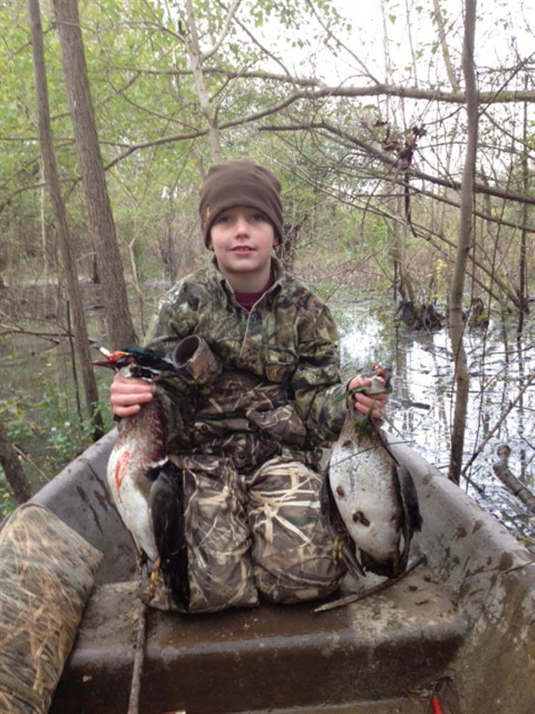 Future duck hunter
