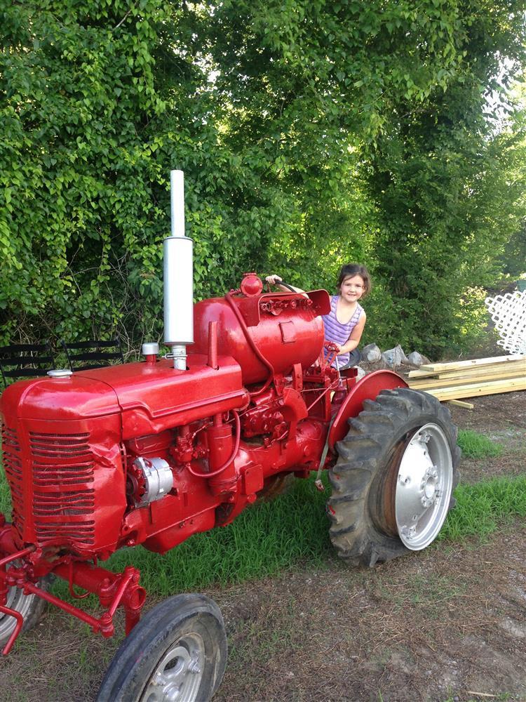 Great Grandpaw Harvards 1932 tractor