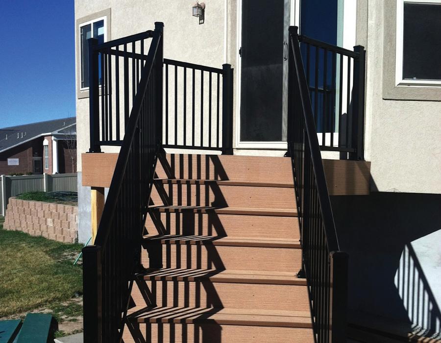 Black AFS Railing (Stair Rail)