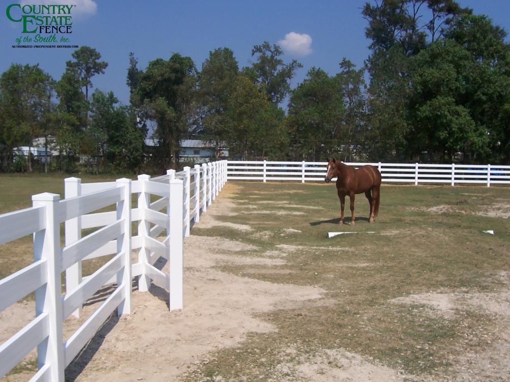 Ranch Rail Gateless Entry