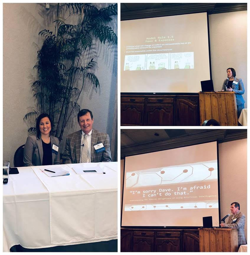 News: Rachel Dunaway and Mike Patterson Present CLE on the Ethical Implications of Using Artificial Intelligence - Long Law Firm, LLP - Baton Rouge, Louisiana
