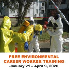 Free Environmental Career Worker Training