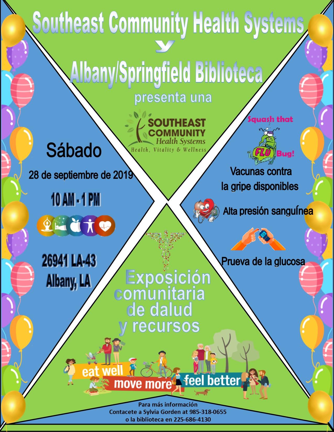 SCHS-Albany Springfield Library Health Expo.Spanish.rvsd.