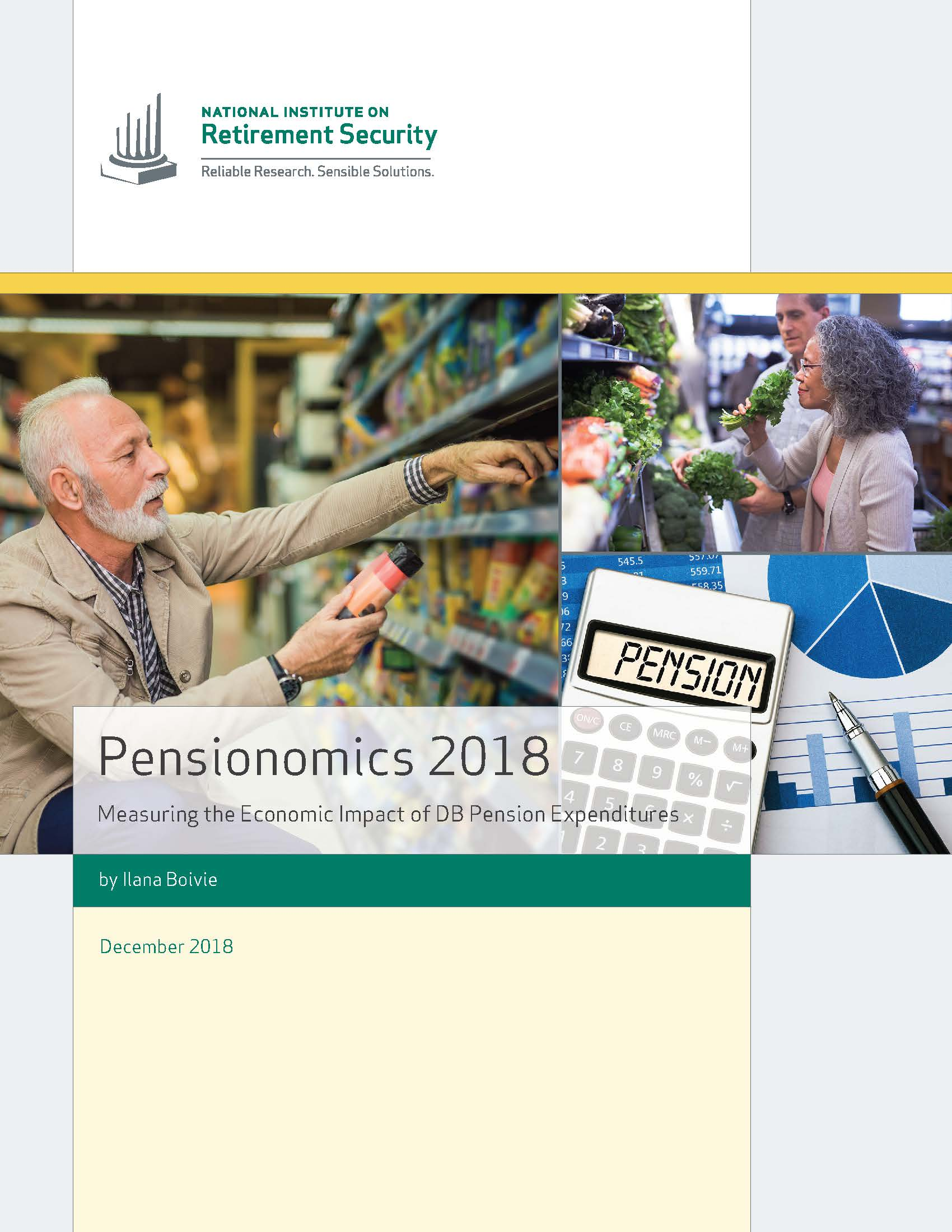 Cover of 2018 Pensionomics