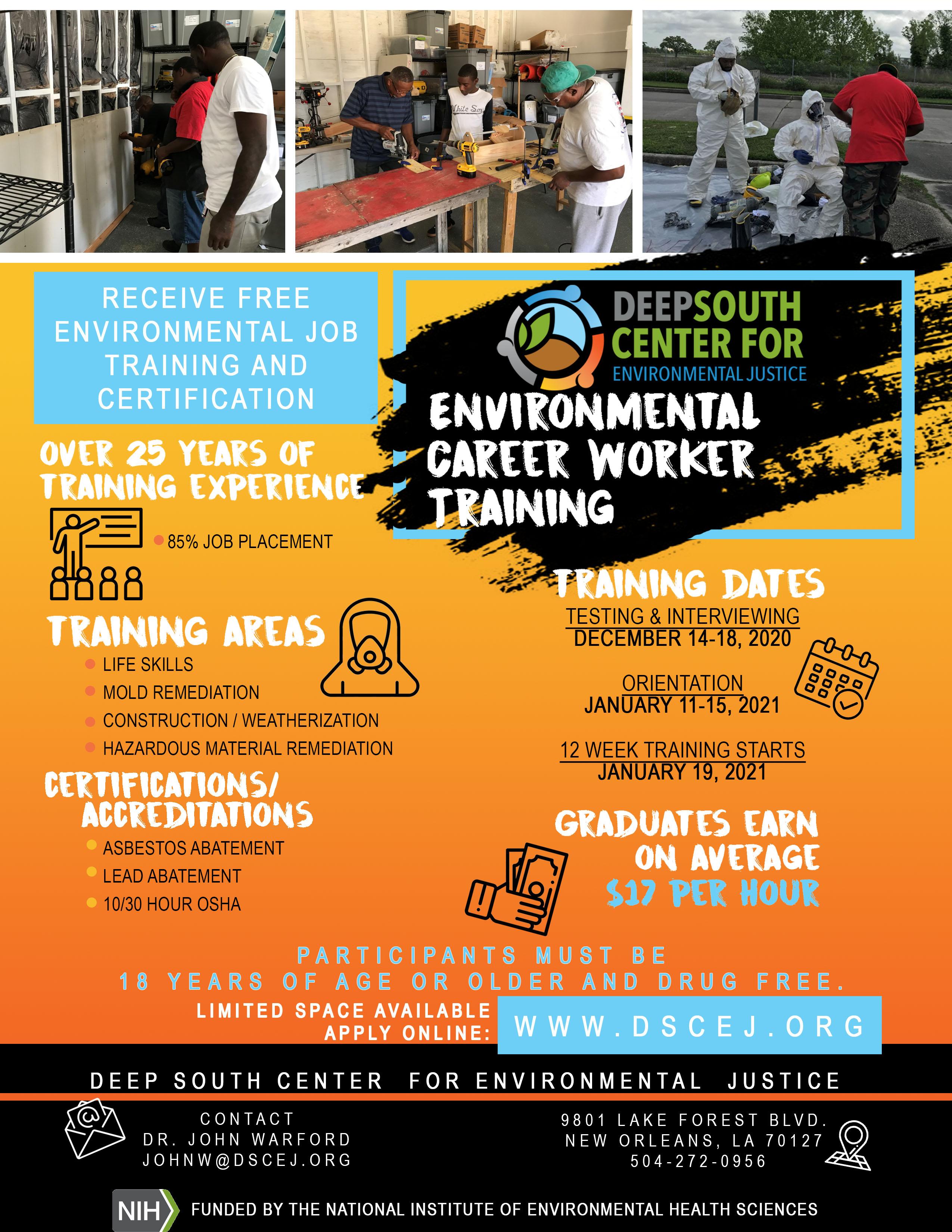 DSCEJ ECWTP flyer - 11-16-20
