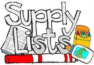 supply list icon