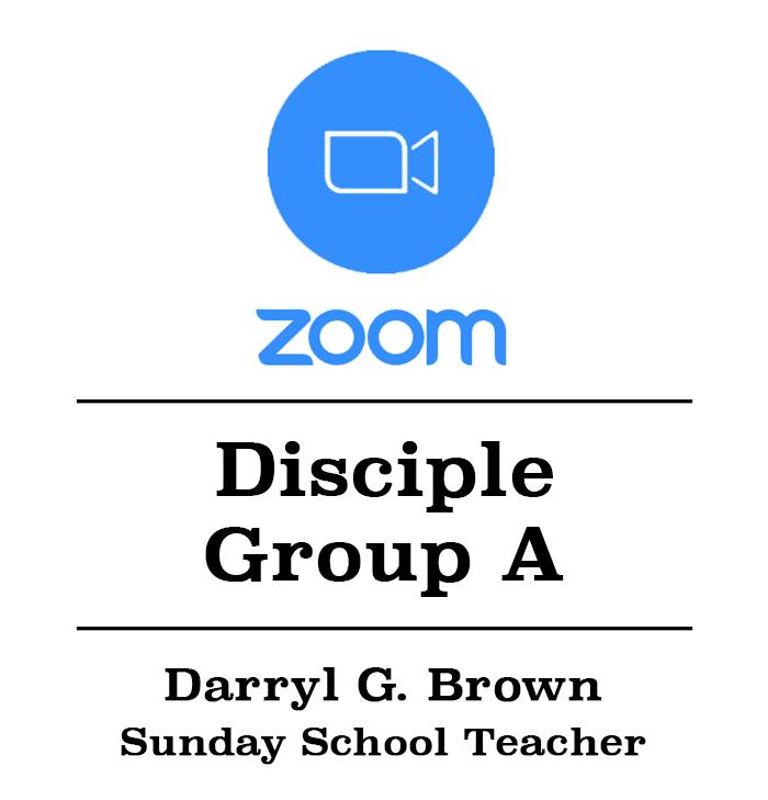 Zoom Class Button w:Darryl Brown