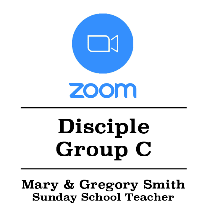 Zoom Class Button w:Mary & Gregory Smith