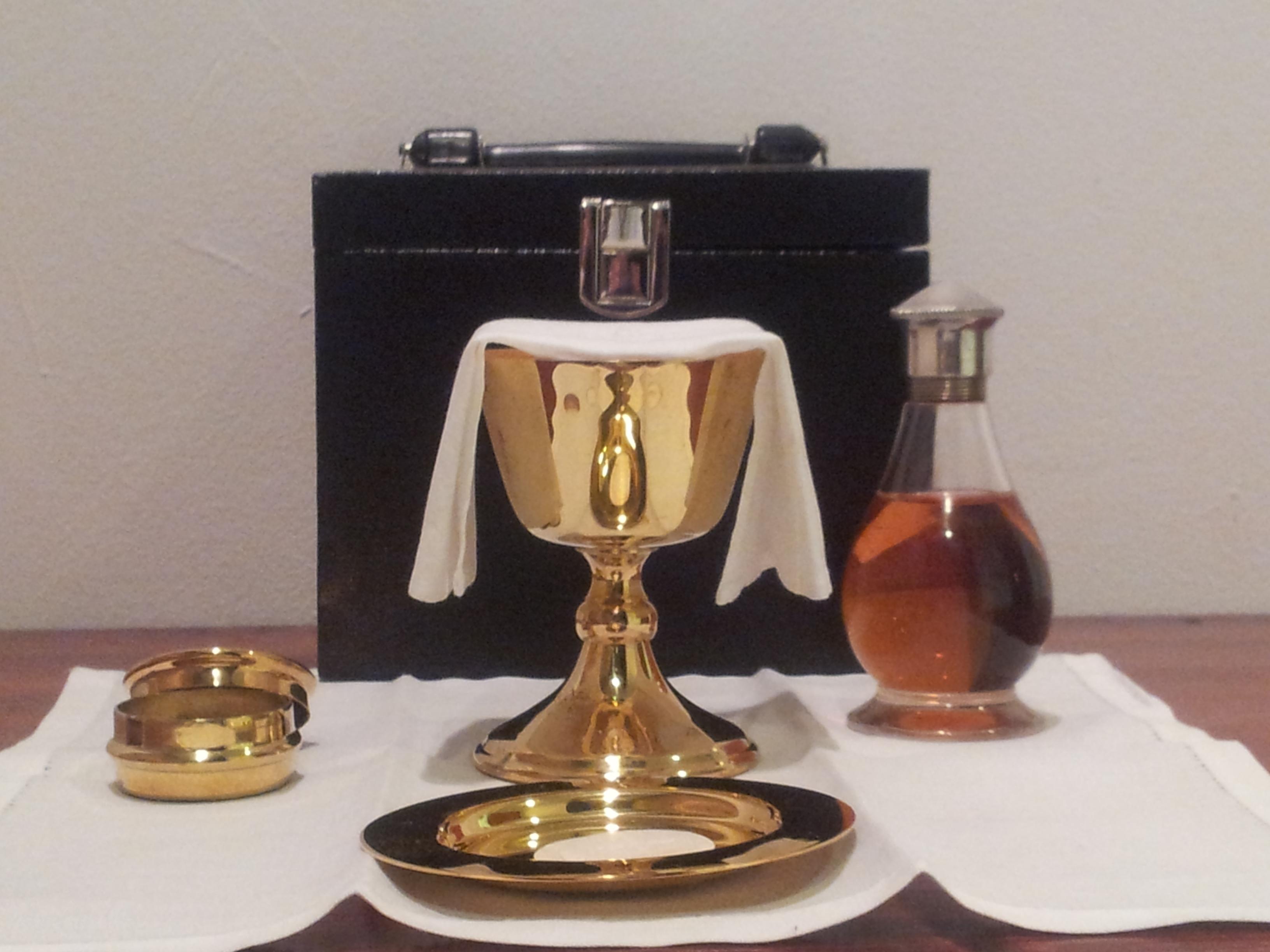 Home Eucharist Setup