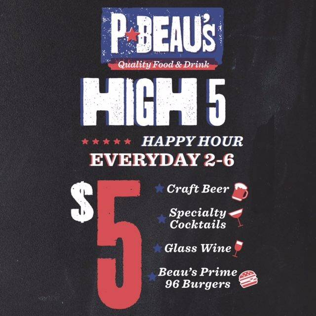 P-Beau's-Baton-Rouge-Denham-Springs-Happy-Hour-Menu